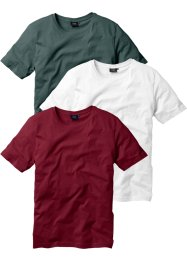 Lot de 3 t-shirts regular fit, bpc bonprix collection