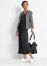 Robe longue extensible avec col rond et manches courtes, bpc bonprix collection