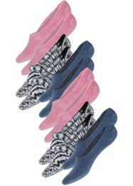 Lot de 6 paires de chaussettes invisibles, bpc bonprix collection