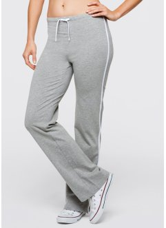 Pantalon de jogging, bpc bonprix collection, gris clair chiné