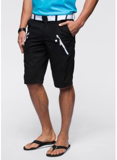 Bermuda Loose Fit, RAINBOW, noir