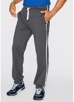Pantalon sweat Regular Fit, bpc bonprix collection, anthracite chiné