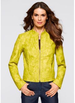 Veste simili cuir, bpc selection, pistache