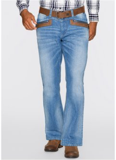 Jean Regular Fit Bootcut, John Baner JEANSWEAR, bleu moyen used