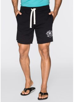 Short matière sweat, bpc bonprix collection, noir