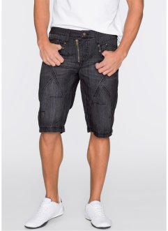 Bermuda en jean Regular Fit, RAINBOW, black stone used