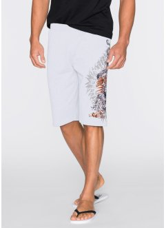 Bermuda sweat Regular Fit, RAINBOW, blanc