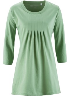 T-shirt long manches 3/4, bpc selection, vert mousse