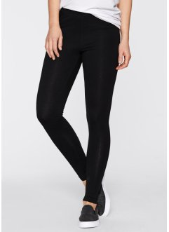 Lot de 2 leggings extensibles, bpc bonprix collection, blanc+noir