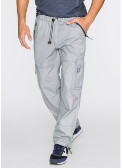Pantalon cargo Loose Fit, bpc bonprix collection, gris clair