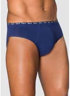 Lot de 5 slips, bpc bonprix collection, bleu nuit