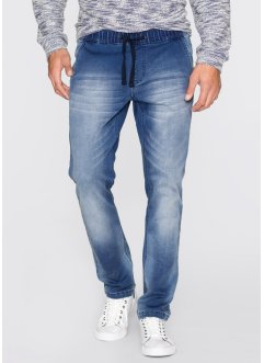 Sweat style jean Regular Fit, John Baner JEANSWEAR, bleu