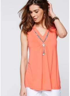 Top + collier, bpc selection, saumon