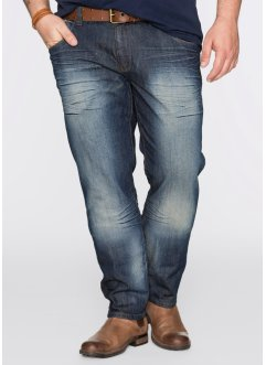 Jean Regular Fit Tapered, John Baner JEANSWEAR, dirty denim used