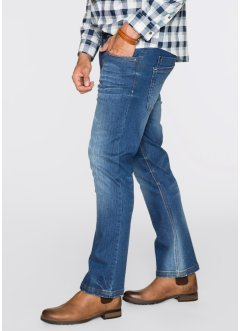 Jean extensible Regular Fit Bootcut, John Baner JEANSWEAR, bleu