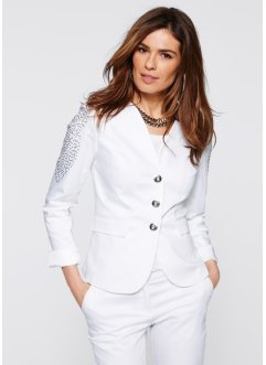 Blazer extensible, bpc selection, blanc