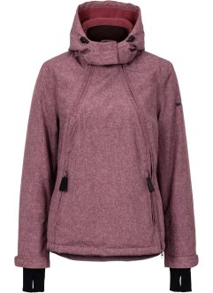 Veste fonctionnelle outdoor, bpc bonprix collection, rouge érable