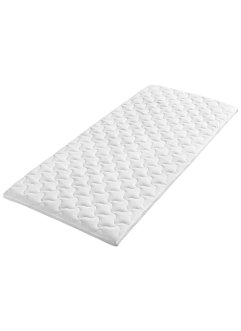 Surmatelas 5 zones Confort Plus, bpc living, blanc