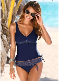 Slip de bikini, bpc bonprix collection, bleu