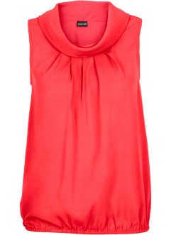 Top blouse, BODYFLIRT, rouge