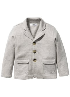 Veste sweat, bpc bonprix collection, écru chiné