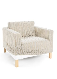 Housse extensible Vienne, bpc living, beige