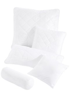 Coussin anti-allergies, bpc living, blanc