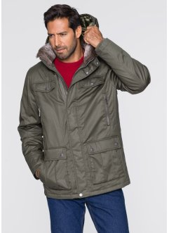 Parka longue Regular Fit, bpc bonprix collection, olive foncé