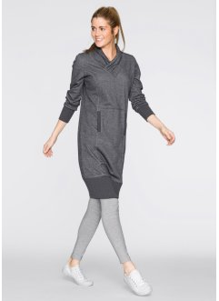 Robe sweat-shirt, bpc bonprix collection, gris ardoise