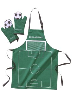Set barbecue Football (Ens. 3 pces.), bpc living, vert