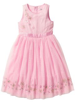 Robe en tulle, bpc bonprix collection, rose poudré