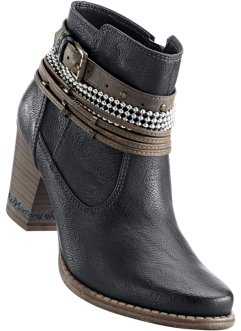 Bottines, Mustang, anthracite