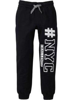 Pantalon sweat avec imprimé, bpc bonprix collection