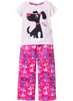 Pyjama (Ens. 2 pces.), bpc bonprix collection, rose/fuchsia