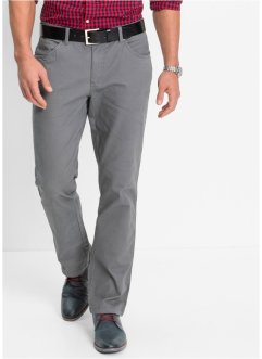 Pantalon extensible coupe 5 poches Slim Fit, droit, bpc bonprix collection, gris fumée