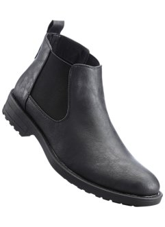 Bottines Chelsea, bpc bonprix collection, noir
