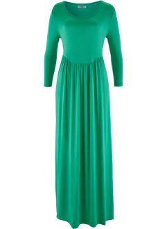 Robe manches 3/4, bpc bonprix collection, vert jade