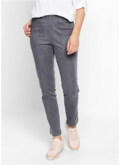 Legging en jean, bpc bonprix collection, gris denim