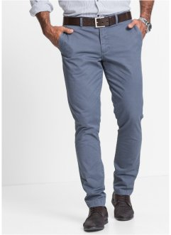 Pantalon chino Slim Fit, bpc selection, bleu à motif