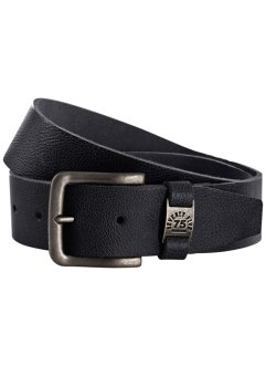 Ceinture en cuir Petersburg, bpc bonprix collection, noir