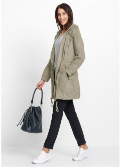 Manteau en simili daim, bpc bonprix collection, new kaki