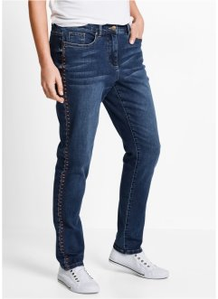 Jean extensible boyfriend, bpc bonprix collection, bleu stone