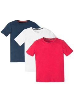 Lot de 3 T-shirts basiques garçon, bpc bonprix collection