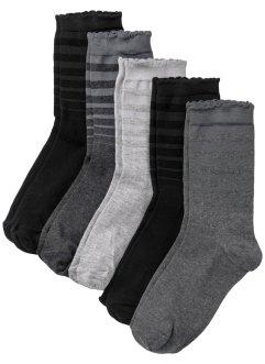 Lot de 5 paires de chaussettes femme, bpc bonprix collection
