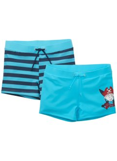 Lot de 2 shorts de bain garçon, bpc bonprix collection