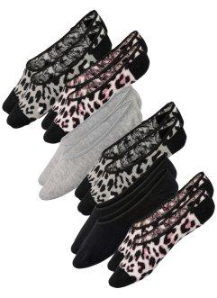 Lot de 6 paires de chaussettes invisibles, bpc bonprix collection