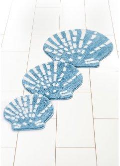 Parure de salle de bain forme coquillage, bpc living bonprix collection