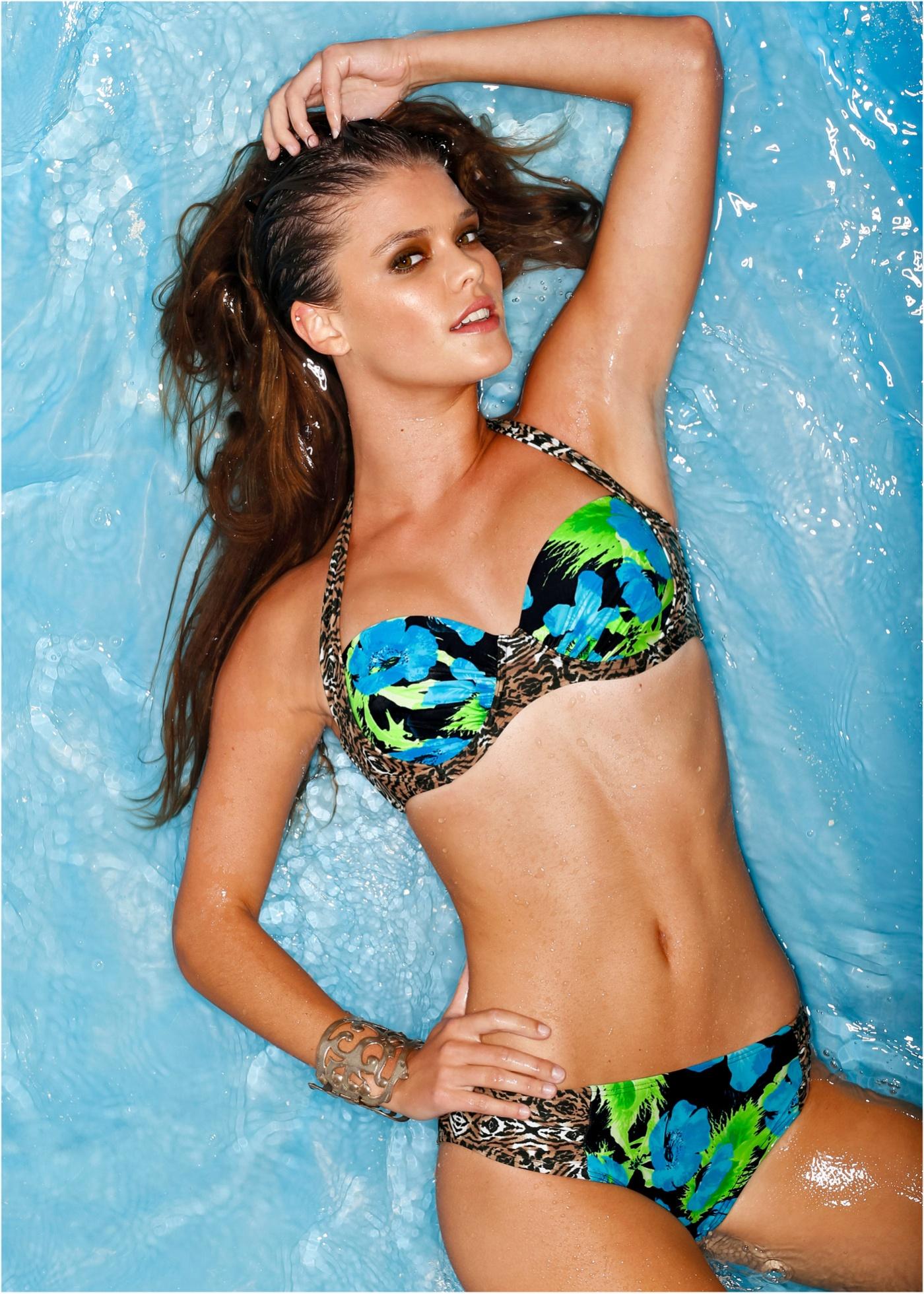 Slip de bikini multicolore maillots de bain -...