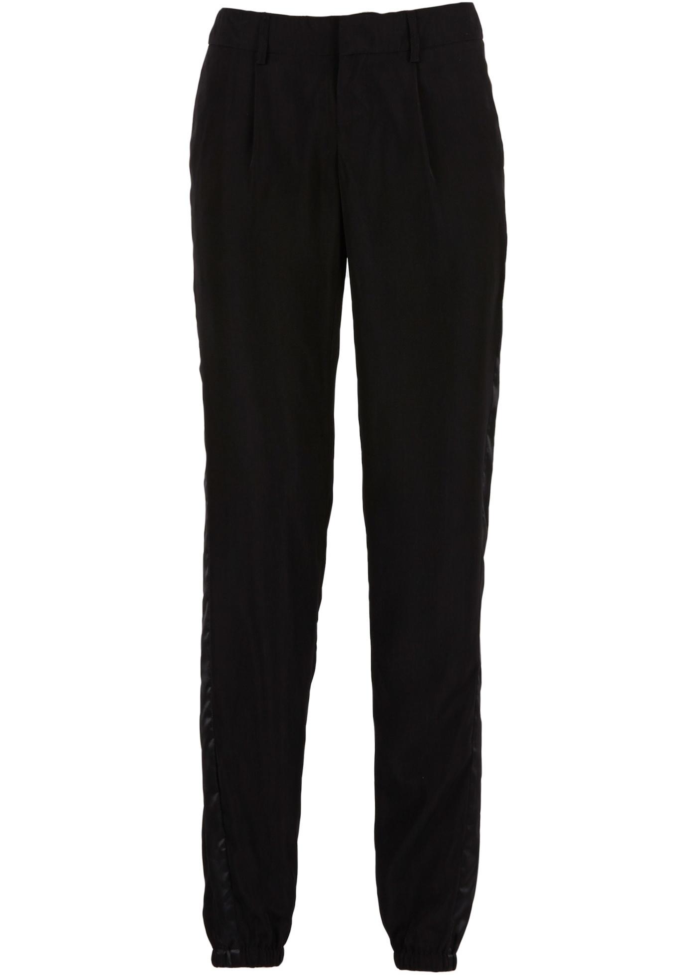 Pantalon de smoking noir femme - bonprix