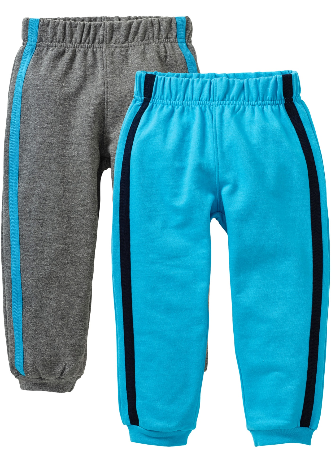 Lot de 2 pantalons matière sweat